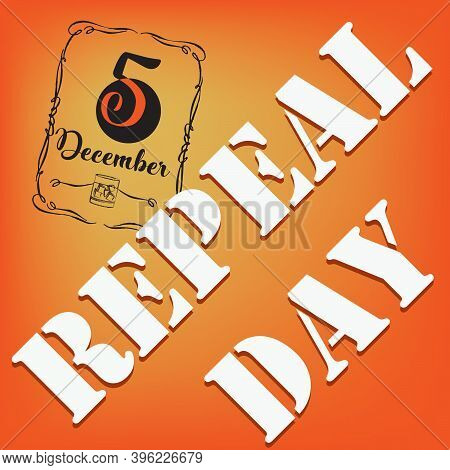 Poster For The Event In December - National Date Repeal Day