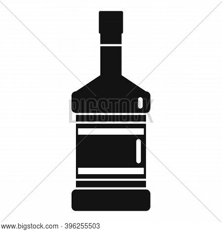 Duty Free Whisky Bottle Icon. Simple Illustration Of Duty Free Whisky Bottle Vector Icon For Web Des
