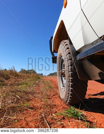 Four Wheel Drive On The Gibb River Road In Western Australia - This Road Is One Of The Famouse 4wd E