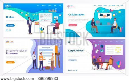 Business Website, Broker, Collaboration, Dispute Resolution Processes, Legal Advice, Partnership, La