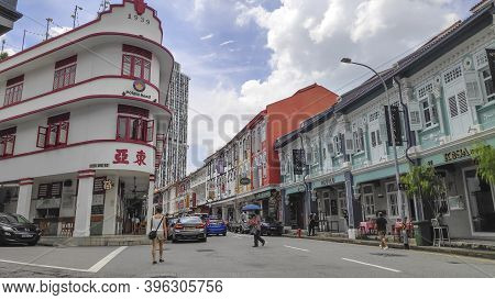Singapore- 20 Nov, 2020: Potato Head Building In Chinatown, Singapore. Chinatown Is A Subzone And Et