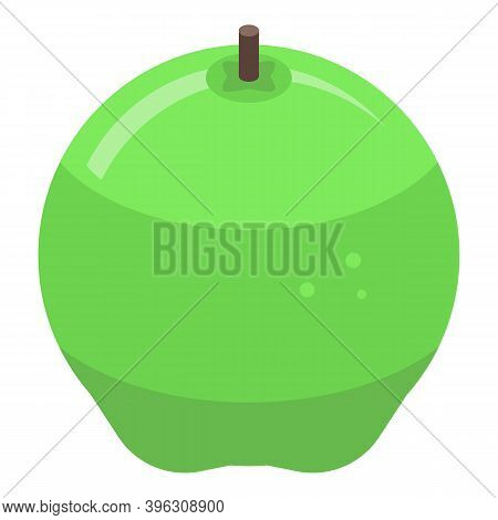 Apple Pie Green Apple Icon. Isometric Of Apple Pie Green Apple Vector Icon For Web Design Isolated O