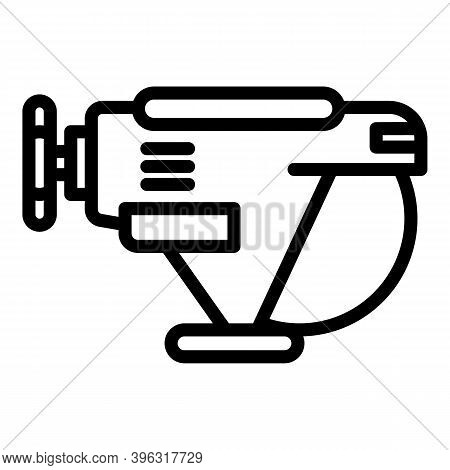 Carrier Bathyscaphe Icon. Outline Carrier Bathyscaphe Vector Icon For Web Design Isolated On White B