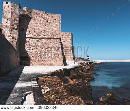The Castle Of Carlo V - Monopoli (puglia)