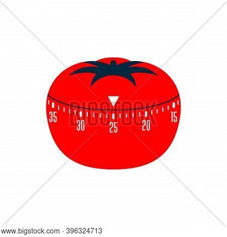Timer Pomodoro. Pomodoro Time Managment Technique - Kitchen Timer