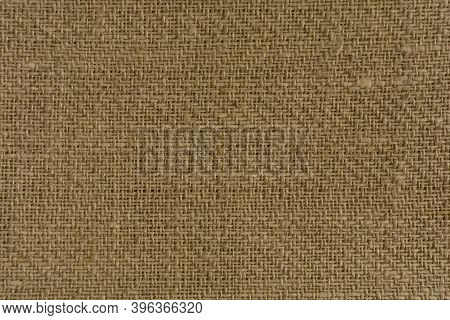 Fabric Texture In Warm Yellow And Brown Natural Tones