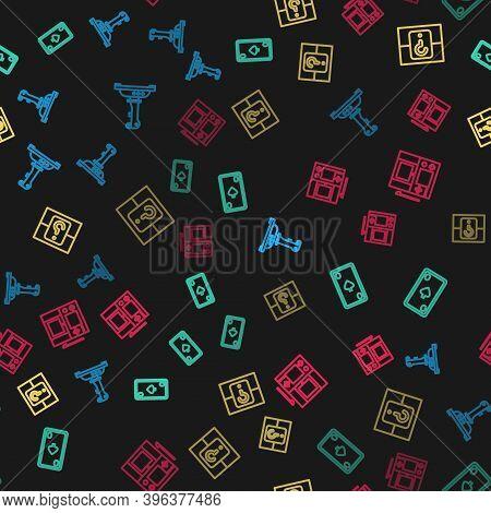 Set Line Joystick For Arcade Machine, Playing Card With Diamonds, Mystery Random Box And Portable Vi