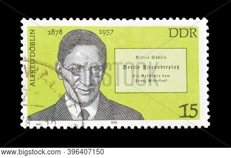 East Germany - Circa 1978 : Cancelled Postage Stamp Printed By East Germany, That Shows Portrait Of