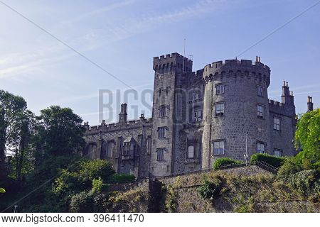 Kilkenny Castle Is A Castle In Kilkenny, The Capital Of The Eponymous County In The Republic Of Irel