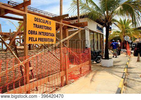 Porto Seguro, Bahia / Brazil -porto Seguro, Bahia / Brazil - February 18, 2009: City Hall Embarks On