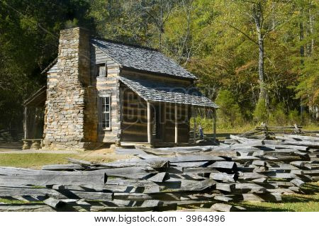 Log Cabin, Cades Cove, Great Smoky Mountains National Park
