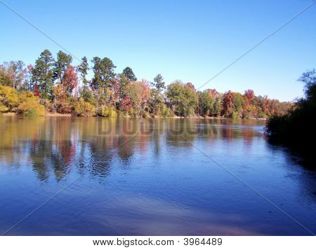 Fall Colors On The Altamaha