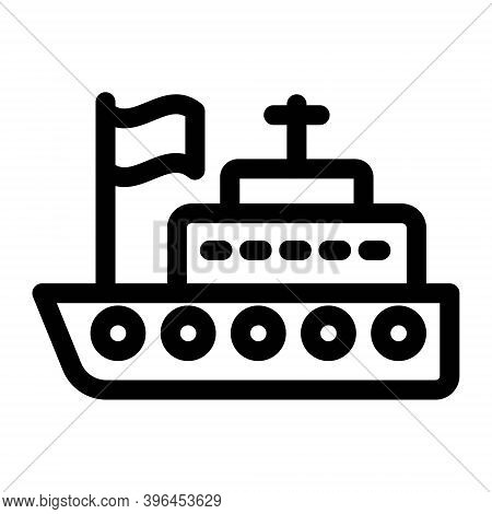 Sailboat Icon. Sailing Boat, Sail Boat, Travel Yacht Symbol. Sea Trip, Journey Signs. Boat Symbol Fo