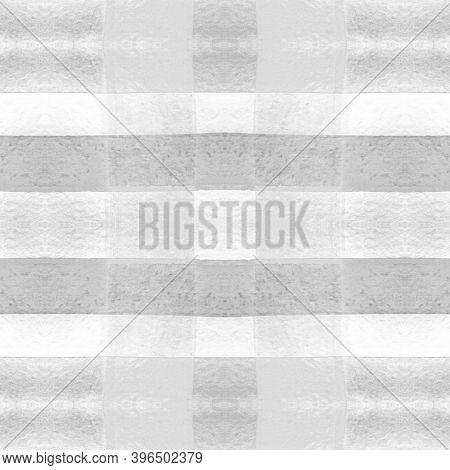 Tartan Mens Shirt Print. Watercolor Check Material. Retro Traditional Stripes For Tile Print. Seamle