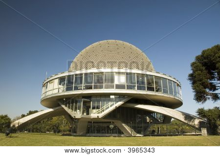 Galileo Galilei Planetarium In Buenos Aires