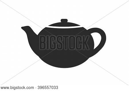 Teapot. Simple Icon. Flat Style Element For Graphic Design. Vector Eps10 Illustration.