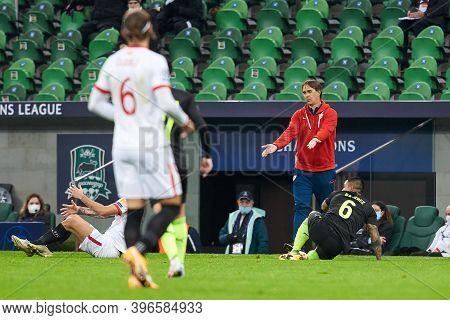 Krasnodar, Russia - November 24, 2020: Julen Lopetegui Head Coach Of Sevilla Fc During The Uefa Cham