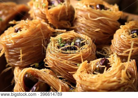 An Arabic Pastry Called Taj El Malek, Or Crown Of The King.