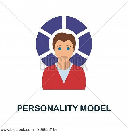 Personality Model Icon. Simple Element From Personality Collection. Creative Personality Model Icon