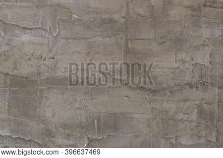 Plaster Or Gypsum Cement Wall Grunge Texture Background For Interior Or Exterior Design.
