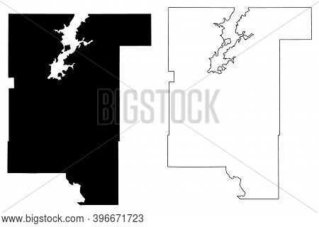 Rogers County, Oklahoma State (u.s. County, United States Of America, Usa, U.s., Us) Map Vector Illu