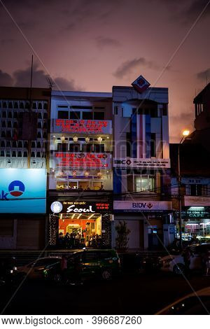 Colorful Evening In Dalat