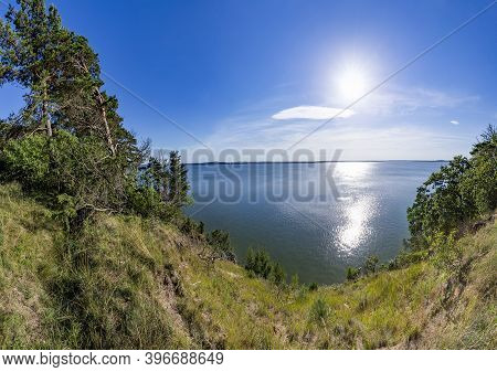 Cliff Landscape In Usedom At Glitz With View To The Baltic Sea