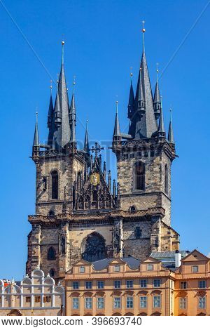 Church of Our Lady before Týn in Prague, Czech Republic