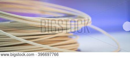 Spools of wood plastic filaments for 3D Printer
