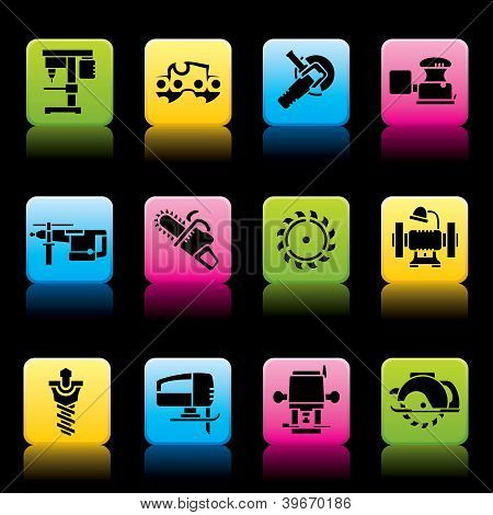 Tools icons color