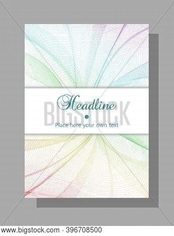 Catalog, Brochure Cover Design. Vector Template For Book, Magazine, Booklet, Portfolio, Leaflet, Pos