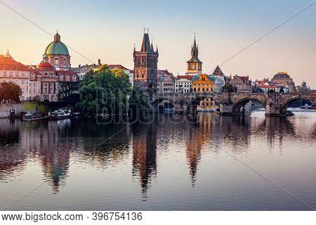 Prague,  Czech Republic at summer