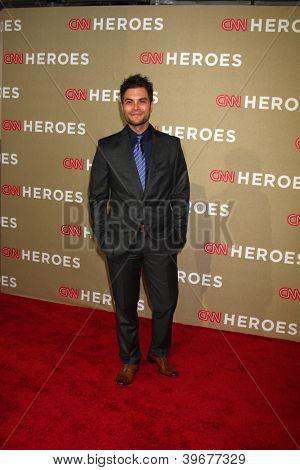 LOS ANGELES - DEC 2:  Erik Valdez arrives to the 2012 CNN Heroes Awards at Shrine Auditorium on December 2, 2012 in Los Angeles, CA