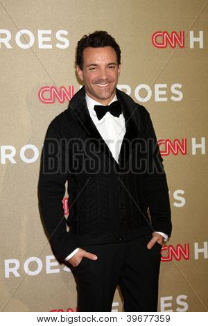 LOS ANGELES - DEC 2:  George Kotsiopoulos arrives to the 2012 CNN Heroes Awards at Shrine Auditorium on December 2, 2012 in Los Angeles, CA