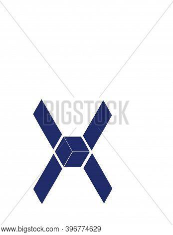 X, Ox, Xo Initials Geometric Logo And Vector Icon