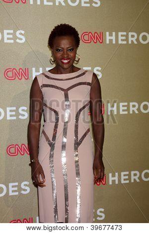LOS ANGELES - DEC 2:  Viola Davis arrives to the 2012 CNN Heroes Awards at Shrine Auditorium on December 2, 2012 in Los Angeles, CA