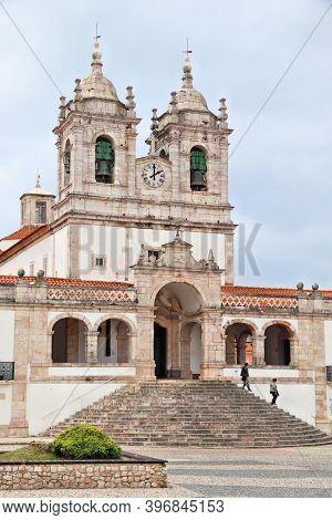 Nazare, Portugal - Sanctuary Of Our Lady (santuario De Nossa Senhora).