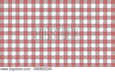 Brown White Beige Gray Vintage Checkered Background. Space For, Graphic Design. Checkered Texture. C