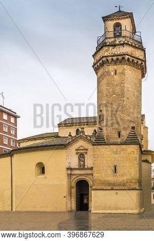 Church San Nicolas De La Villa In Gothic-mudejar Style, Cordoba, Spain