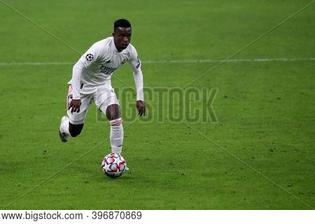 Milano, Italy. 25th November 2020. Vinicius Junior Of Real Madrid Fc   During Uefa Champions League