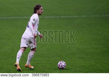 Milano, Italy. 25th November 2020. Luka Modric Of Real Madrid Fc   During Uefa Champions League Grou