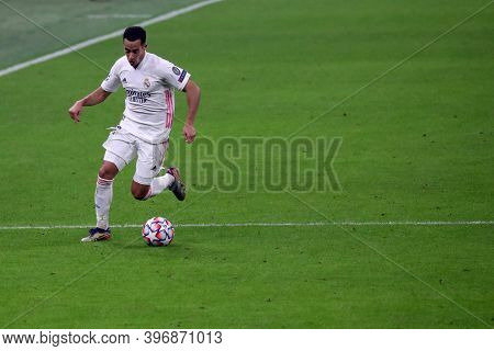 Milano, Italy. 25th November 2020. Lucas Vazquez Of Real Madrid Fc   During Uefa Champions League Gr