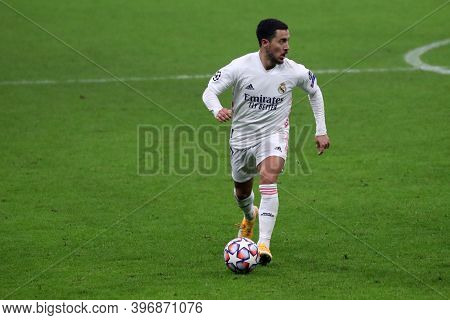 Milano, Italy. 25th November 2020. Eden Hazard Of Real Madrid Fc   During Uefa Champions League Grou