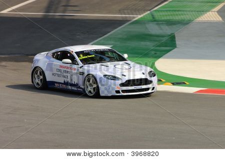 Christian Danner Racing In Singapore Aston Martin Cup