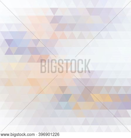 Polygonal Geometric Background In Color Abstract Vector. Geometric Background In Geometric Abstract
