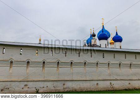 Vysotsky Monastery In Serpukhov, Moscow Oblast, Russia