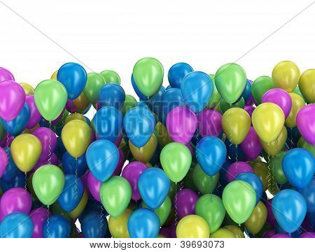 Balloons Multi Color