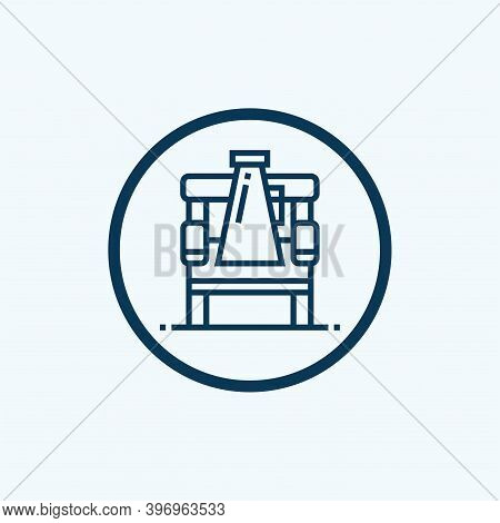 Director Film Chair Icon Isolated On White Background From Cinema Collection. Director Film Chair Ic
