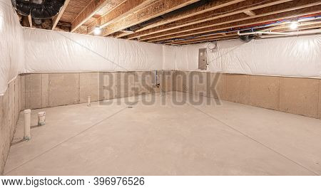 Basement Has Been Insulated And Waterproofed