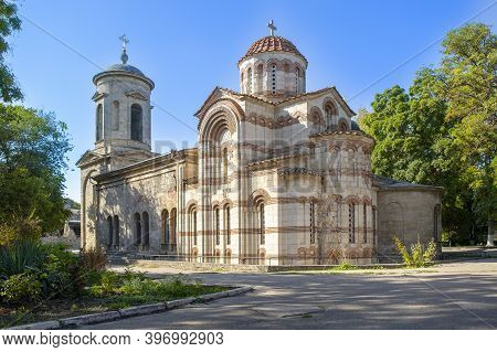 The Main Attraction Of The City Of Kerch Is The Church Of St. John The Baptist